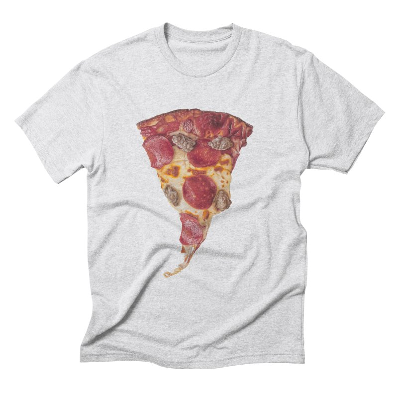 Pepperoni and Sausage Men's Triblend T-Shirt by mikesobeck's Artist Shop
