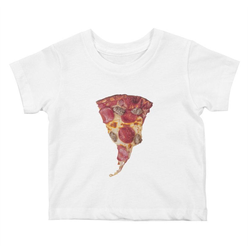 Pepperoni and Sausage Kids Baby T-Shirt by mikesobeck's Artist Shop