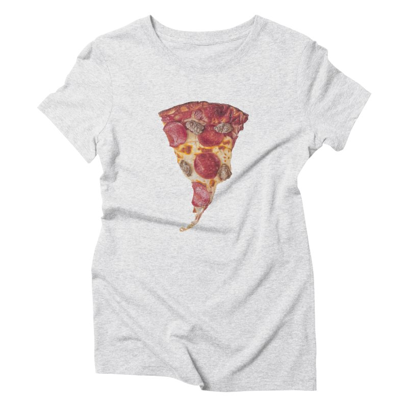 Pepperoni and Sausage Women's T-Shirt by mikesobeck's Artist Shop
