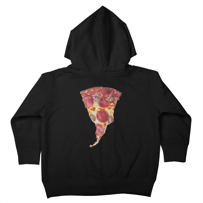 Pepperoni and Sausage Kids Toddler Zip-Up Hoody by mikesobeck's Artist Shop