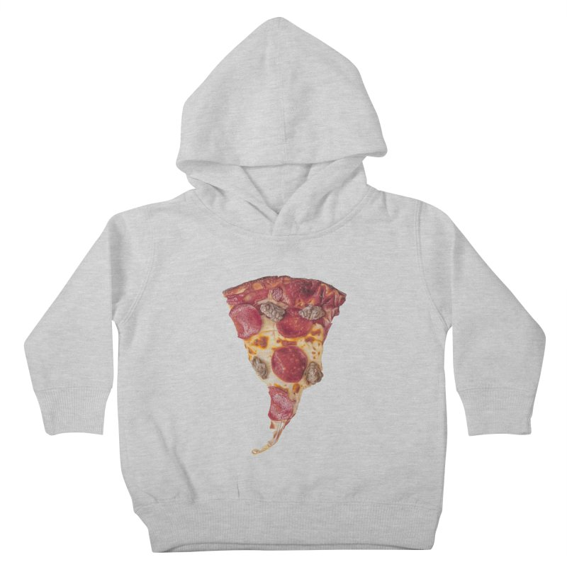 Pepperoni and Sausage Kids Toddler Pullover Hoody by mikesobeck's Artist Shop