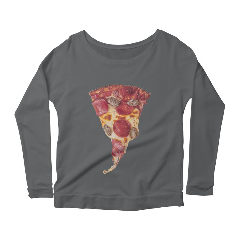 Pepperoni and Sausage Women's Longsleeve T-Shirt by mikesobeck's Artist Shop