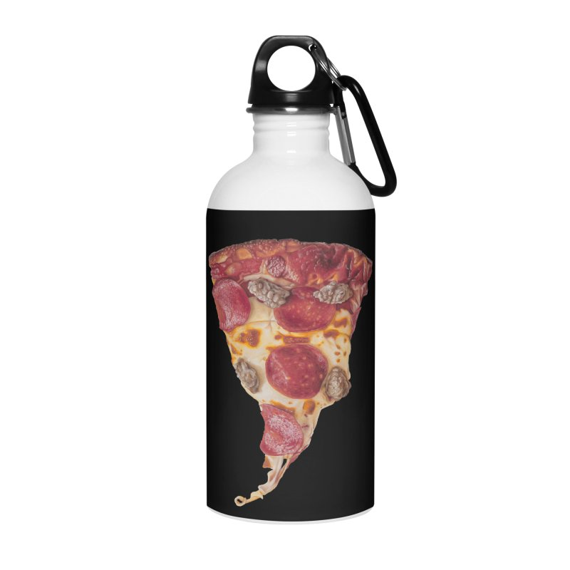 Pepperoni and Sausage Accessories Water Bottle by mikesobeck's Artist Shop