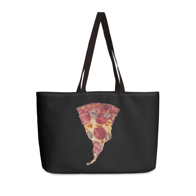 Pepperoni and Sausage Accessories Weekender Bag Bag by mikesobeck's Artist Shop