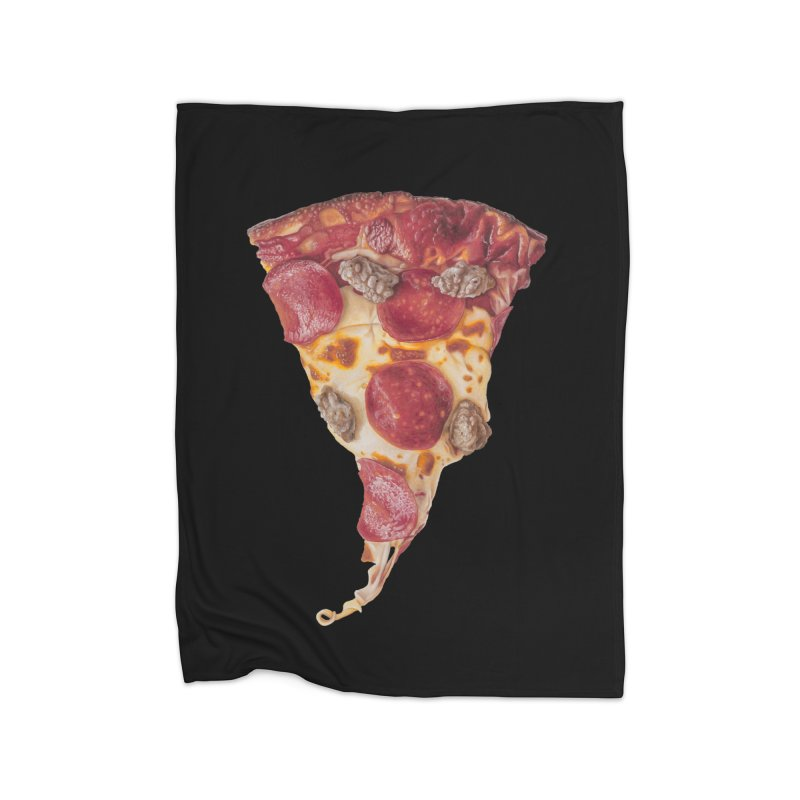 Pepperoni and Sausage Home Blanket by mikesobeck's Artist Shop