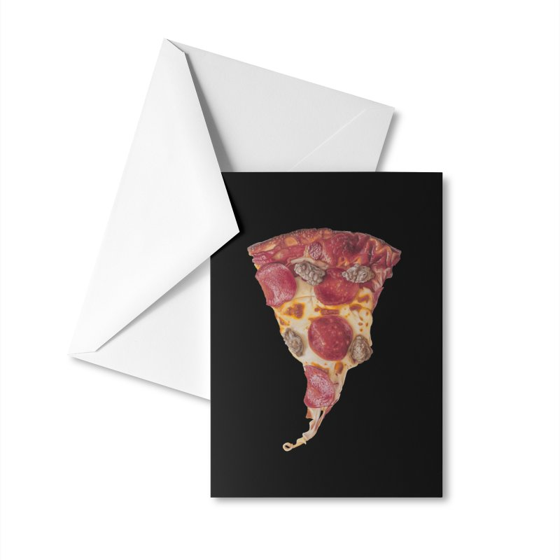 Pepperoni and Sausage Accessories Greeting Card by mikesobeck's Artist Shop