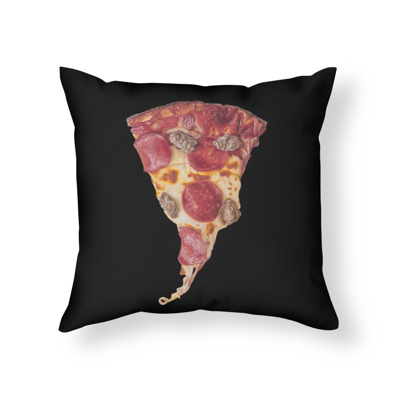 Pepperoni and Sausage Home Throw Pillow by mikesobeck's Artist Shop