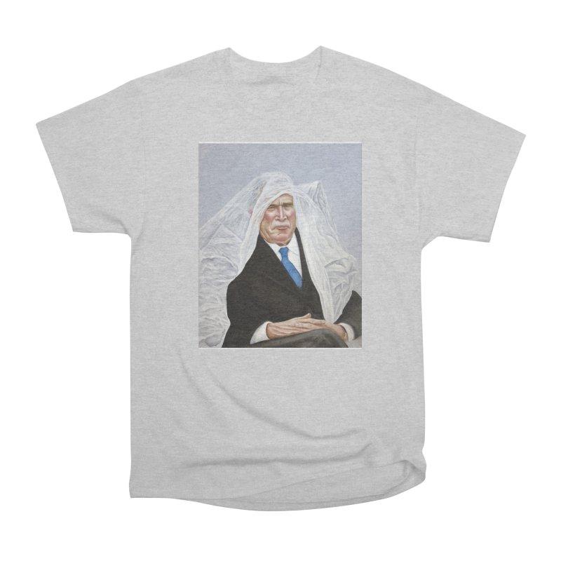 George Bush Men's Heavyweight T-Shirt by mikesobeck's Artist Shop