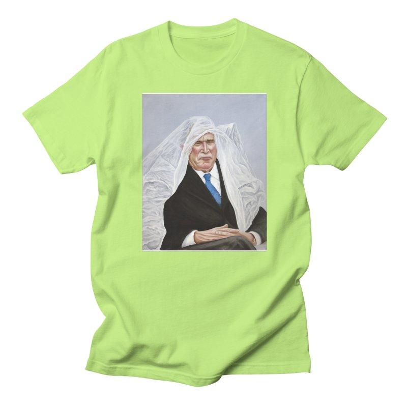 George Bush Men's T-Shirt by mikesobeck's Artist Shop