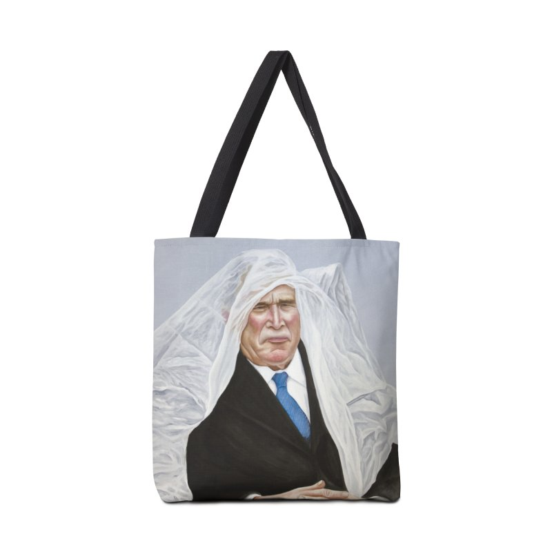 George Bush Accessories Bag by mikesobeck's Artist Shop