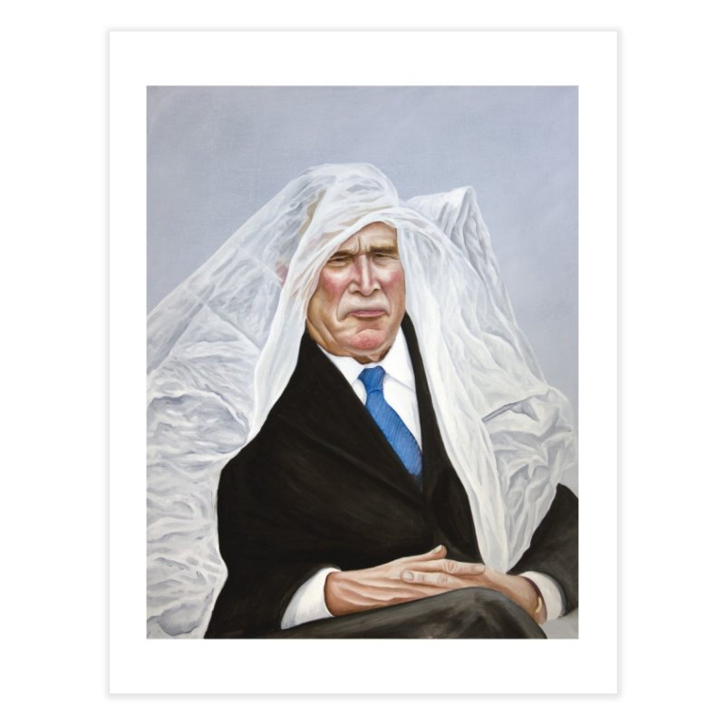 George Bush Home Fine Art Print by mikesobeck's Artist Shop