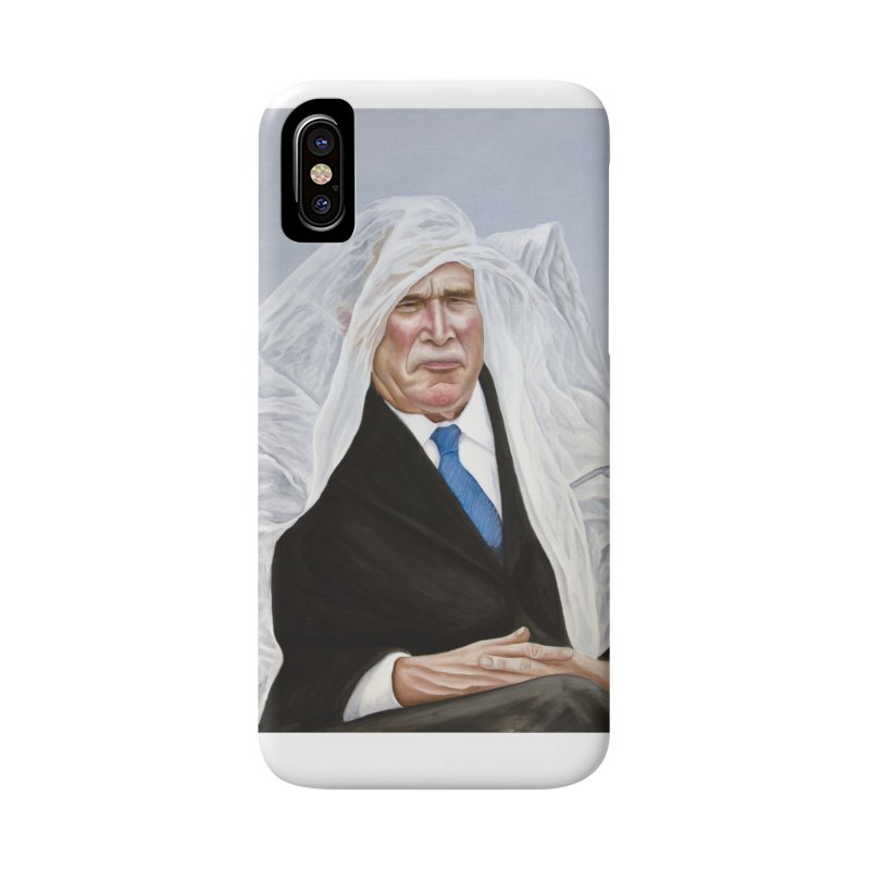 George Bush Accessories Phone Case by mikesobeck's Artist Shop