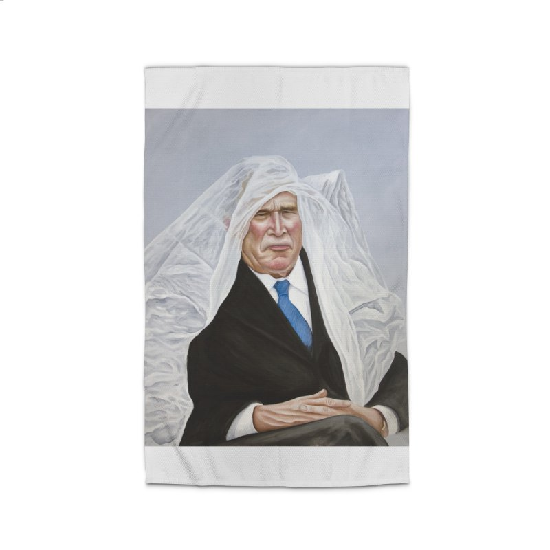 George Bush Home Rug by mikesobeck's Artist Shop