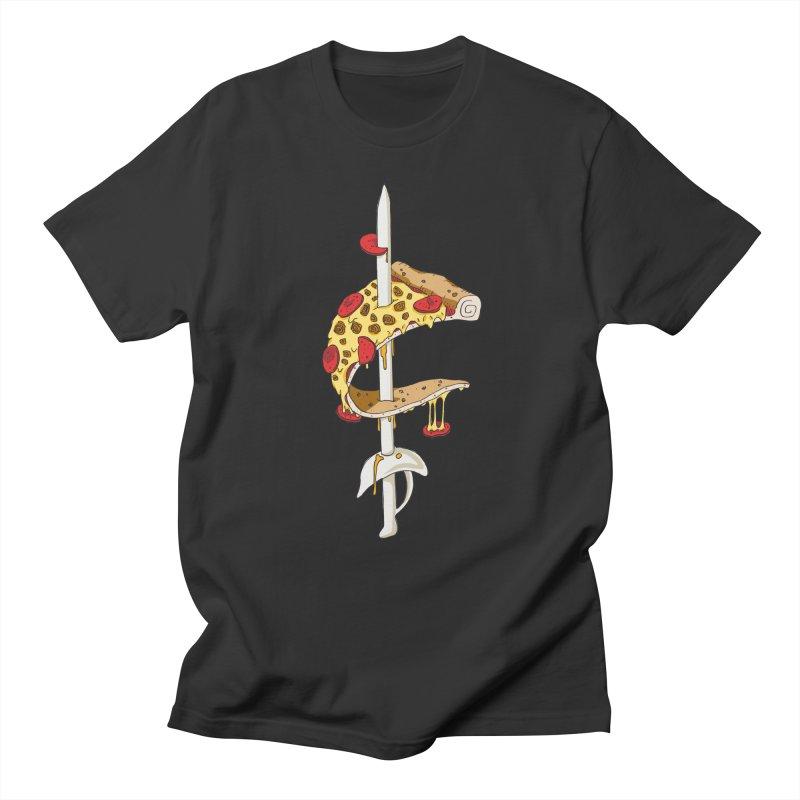 Cavs Pizza Women's Unisex T-Shirt by mikesobeck's Artist Shop