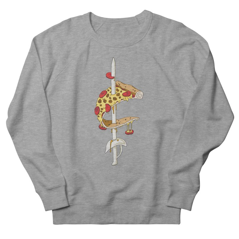 Cavs Pizza Women's Sweatshirt by mikesobeck's Artist Shop