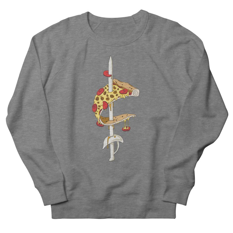 Cavs Pizza Men's French Terry Sweatshirt by mikesobeck's Artist Shop