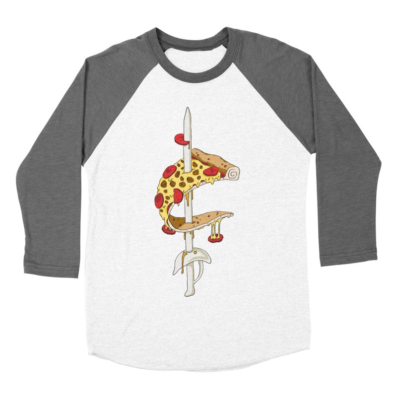 Cavs Pizza Women's Longsleeve T-Shirt by mikesobeck's Artist Shop