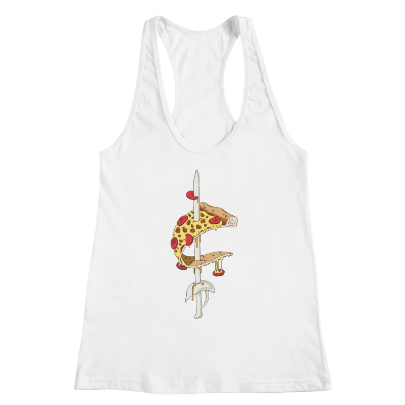 Cavs Pizza Women's Tank by mikesobeck's Artist Shop