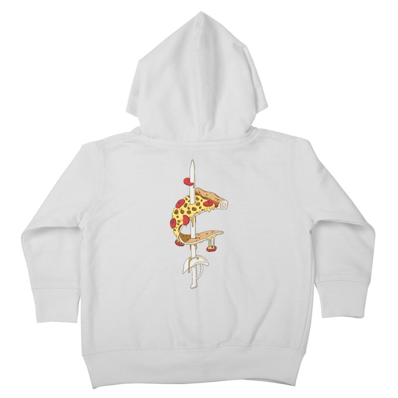 Cavs Pizza Kids Toddler Zip-Up Hoody by mikesobeck's Artist Shop