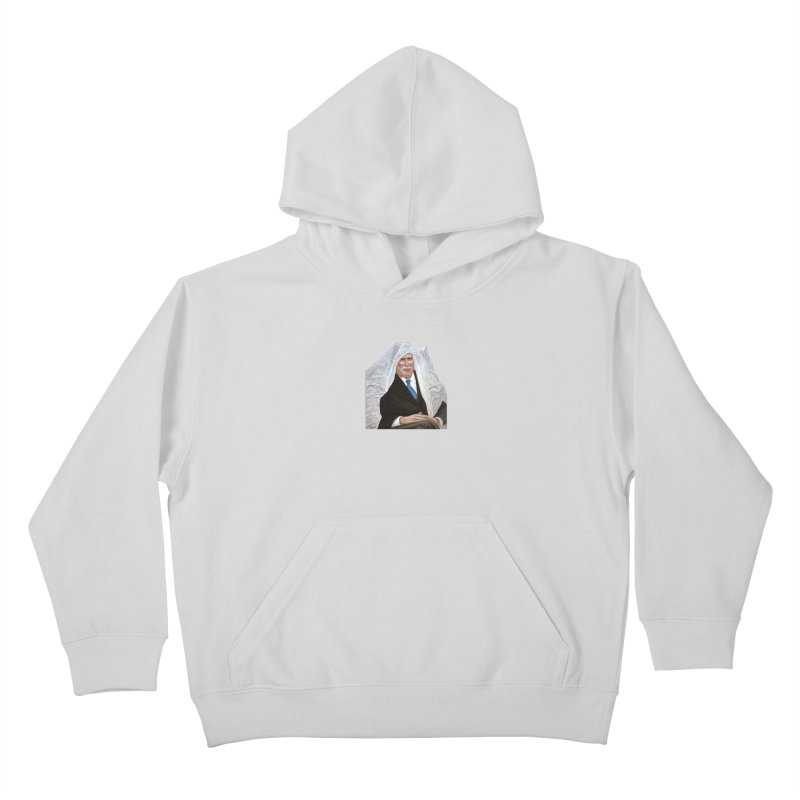 George W. Bush Kids Pullover Hoody by mikesobeck's Artist Shop