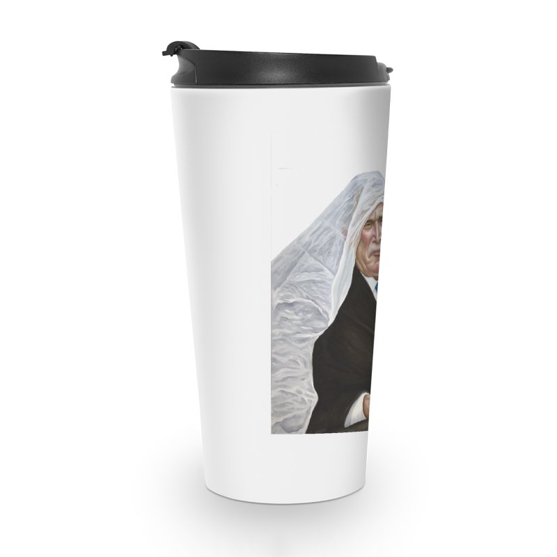 George W. Bush Accessories Travel Mug by mikesobeck's Artist Shop