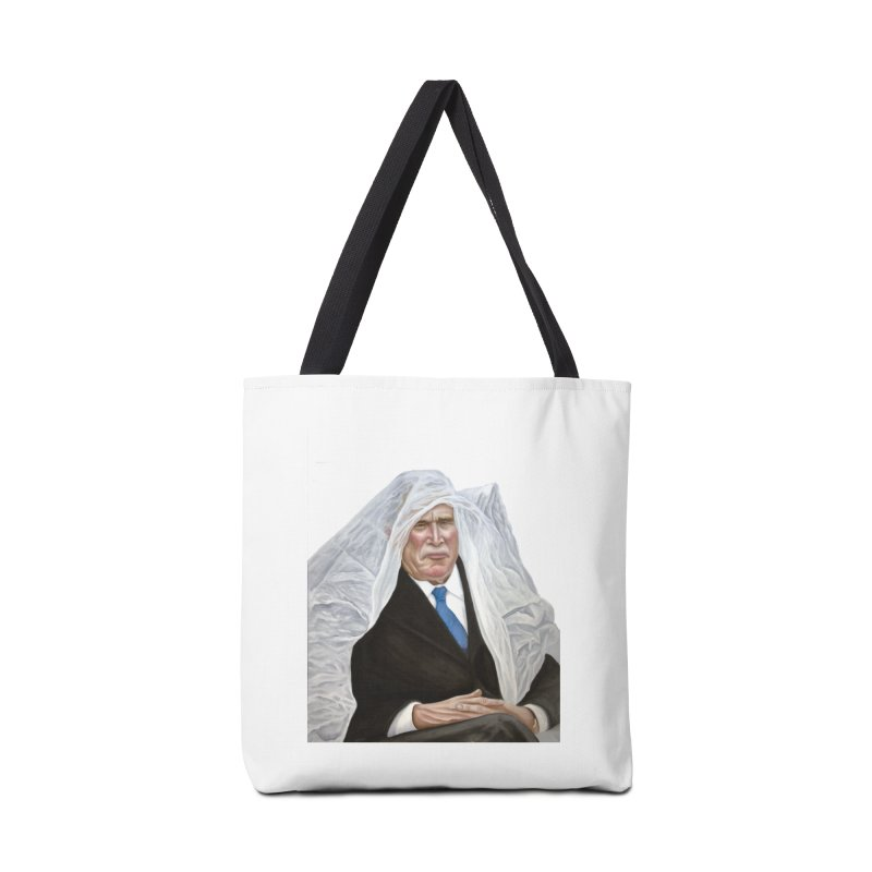George W. Bush Accessories Tote Bag Bag by mikesobeck's Artist Shop