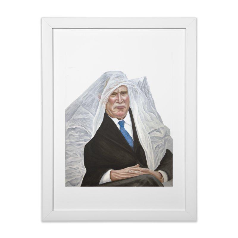 George W. Bush Home Framed Fine Art Print by mikesobeck's Artist Shop
