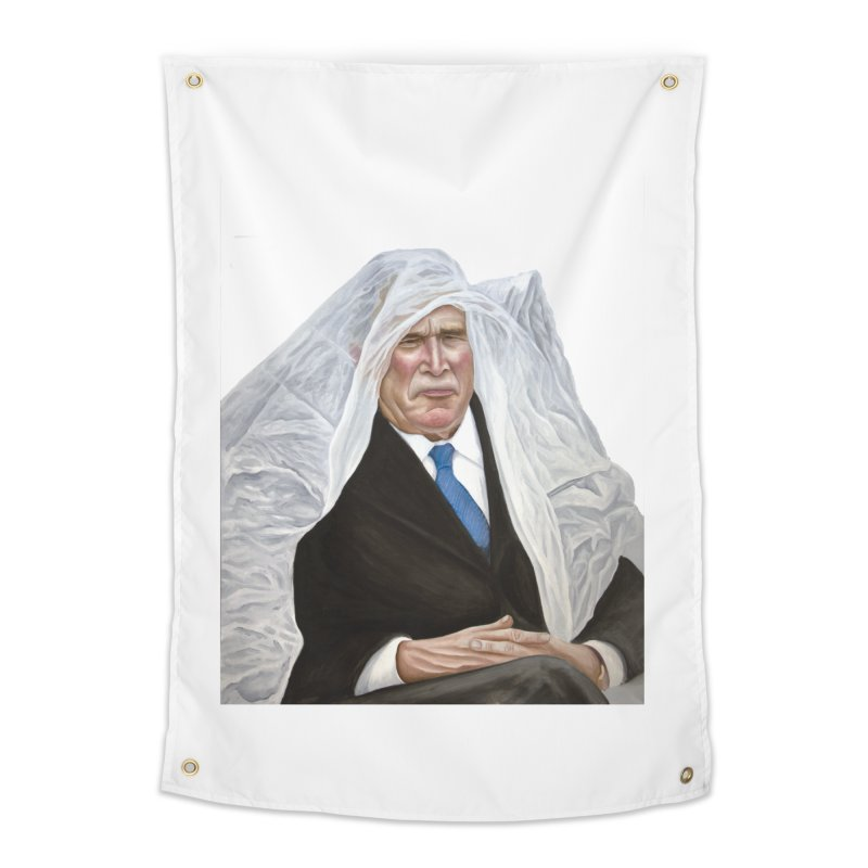 George W. Bush Home Tapestry by mikesobeck's Artist Shop