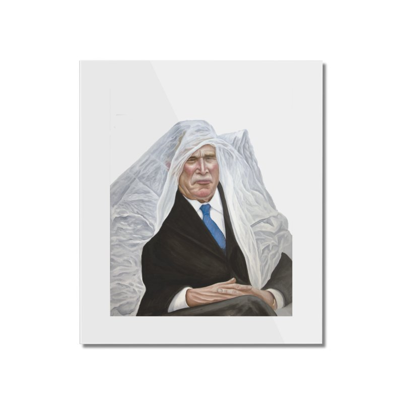 George W. Bush Home Mounted Acrylic Print by mikesobeck's Artist Shop