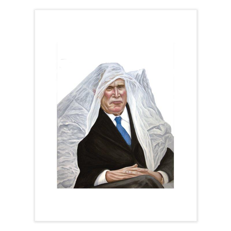 George W. Bush Home Fine Art Print by mikesobeck's Artist Shop