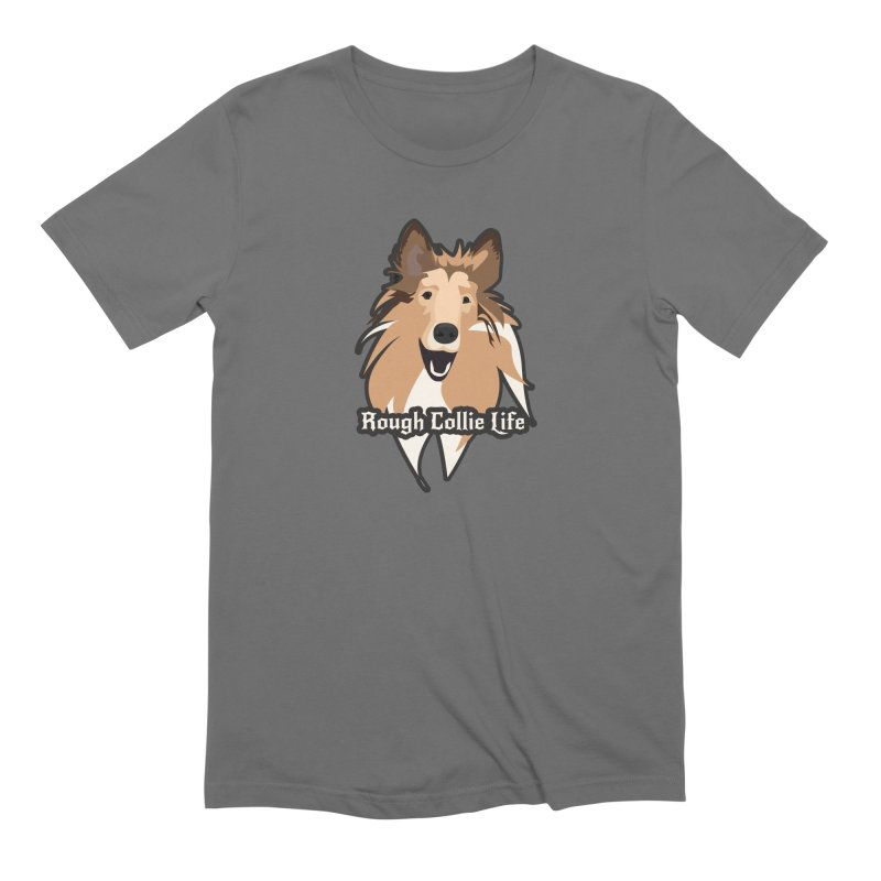 Rough Collie Life Men's T-Shirt by Cory & Mike's Artist Shop