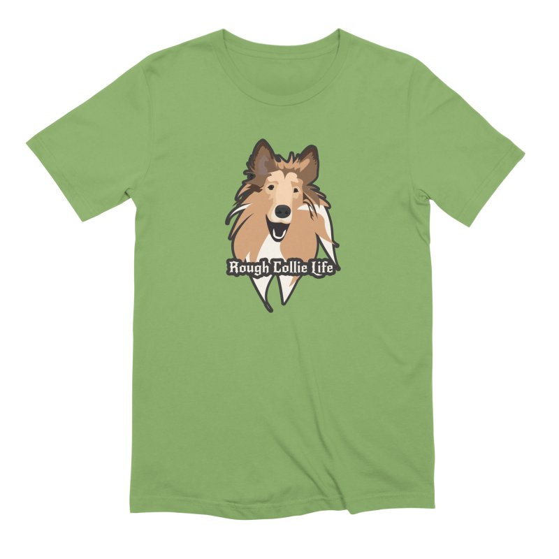 Rough Collie Life Men's Extra Soft T-Shirt by Cory & Mike's Artist Shop