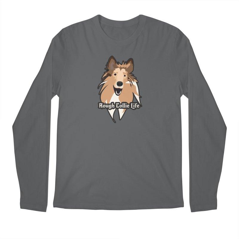 Rough Collie Life Men's Longsleeve T-Shirt by Cory & Mike's Artist Shop