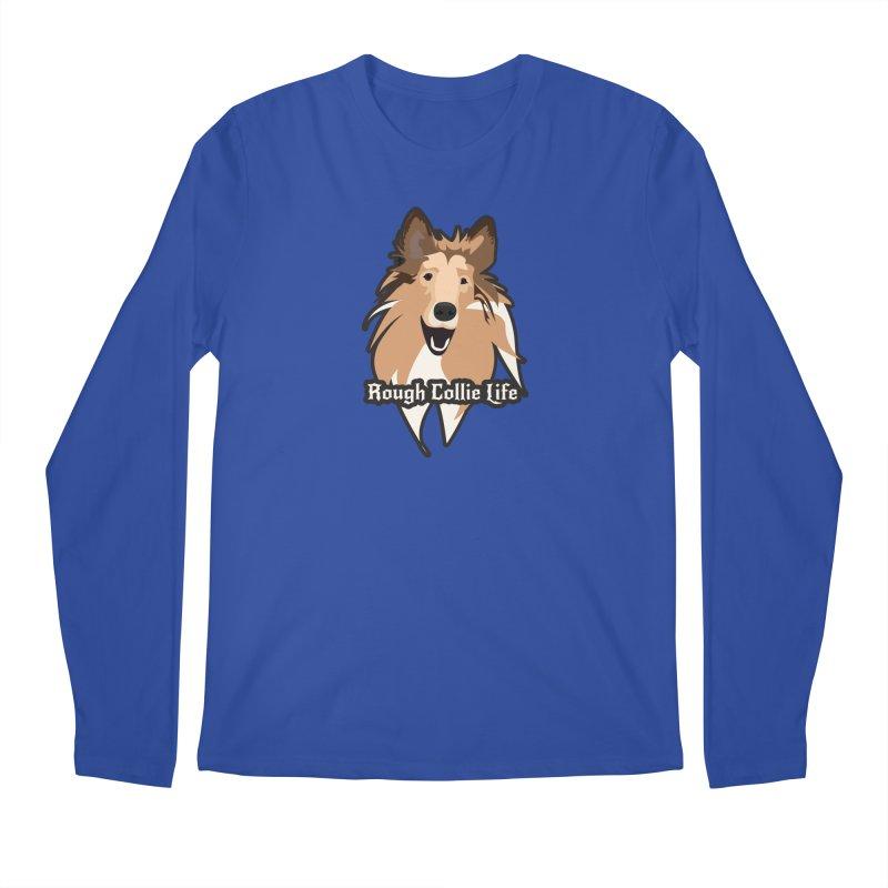 Rough Collie Life Men's Regular Longsleeve T-Shirt by Cory & Mike's Artist Shop
