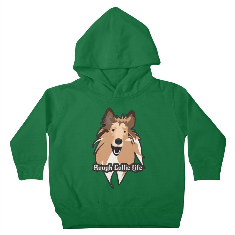Rough Collie Life Kids Toddler Pullover Hoody by Cory & Mike's Artist Shop