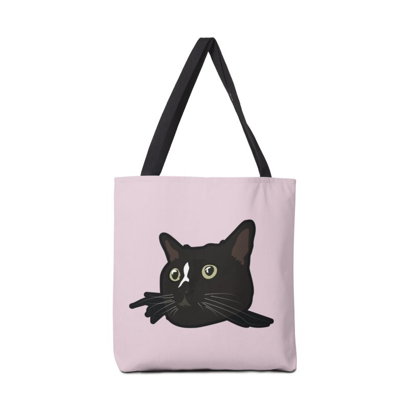 Tuxedo cat Accessories Tote Bag Bag by Cory & Mike's Artist Shop