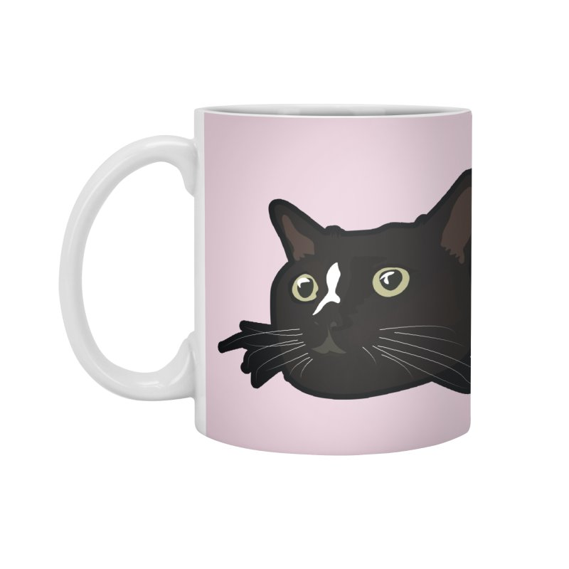 Tuxedo cat Accessories Mug by Cory & Mike's Artist Shop