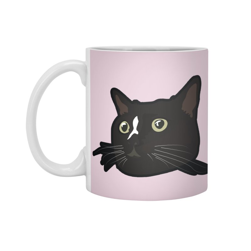 Tuxedo cat Accessories Standard Mug by Cory & Mike's Artist Shop