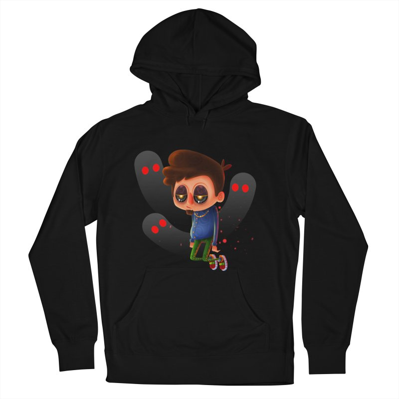 Soul Searching Men's French Terry Pullover Hoody by mikibo's Shop