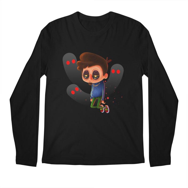 Soul Searching Men's Regular Longsleeve T-Shirt by mikibo's Shop