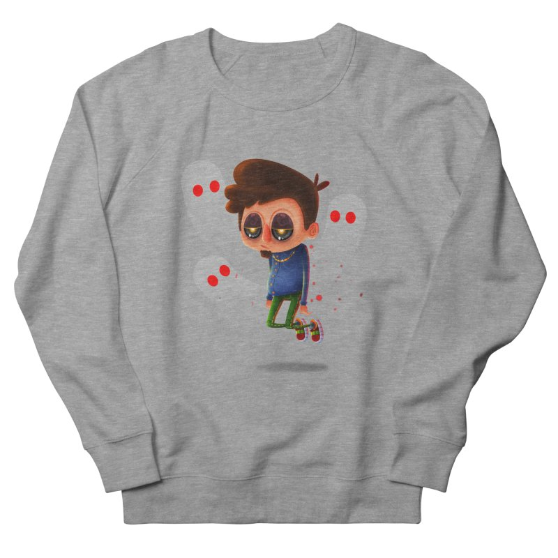 Soul Searching Men's French Terry Sweatshirt by mikibo's Shop