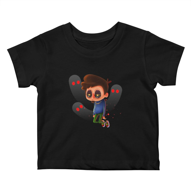 Soul Searching Kids Baby T-Shirt by mikibo's Shop