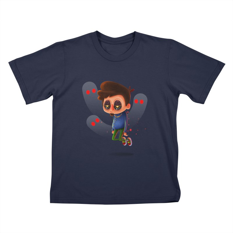 Soul Searching Kids T-Shirt by mikibo's Shop