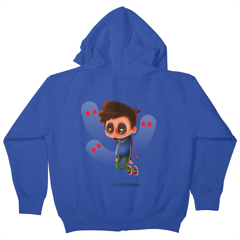 Soul Searching Kids Zip-Up Hoody by mikibo's Shop