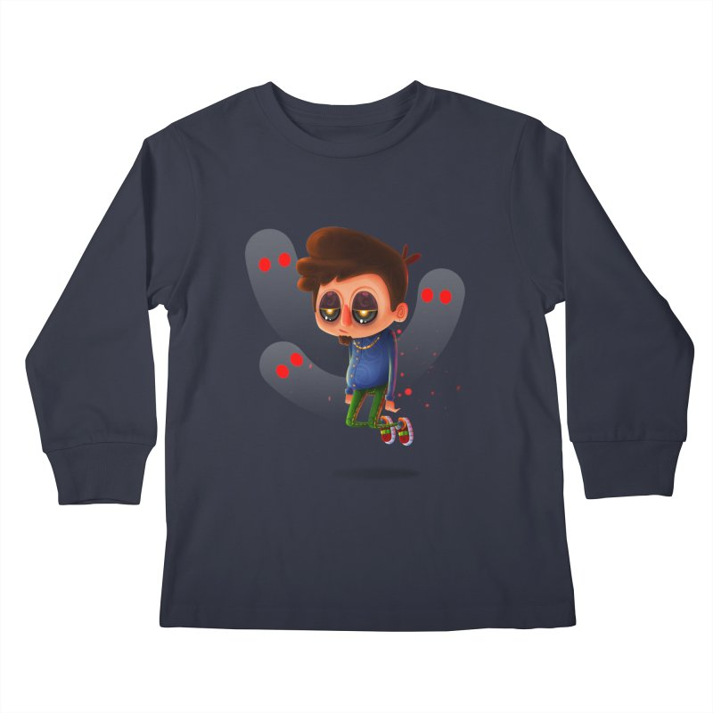Soul Searching Kids Longsleeve T-Shirt by mikibo's Shop