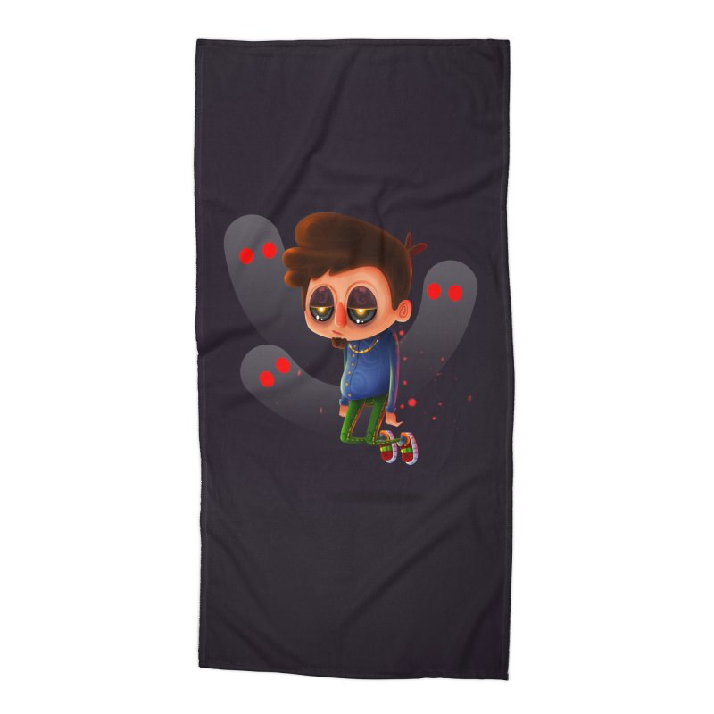Soul Searching Accessories Beach Towel by mikibo's Shop