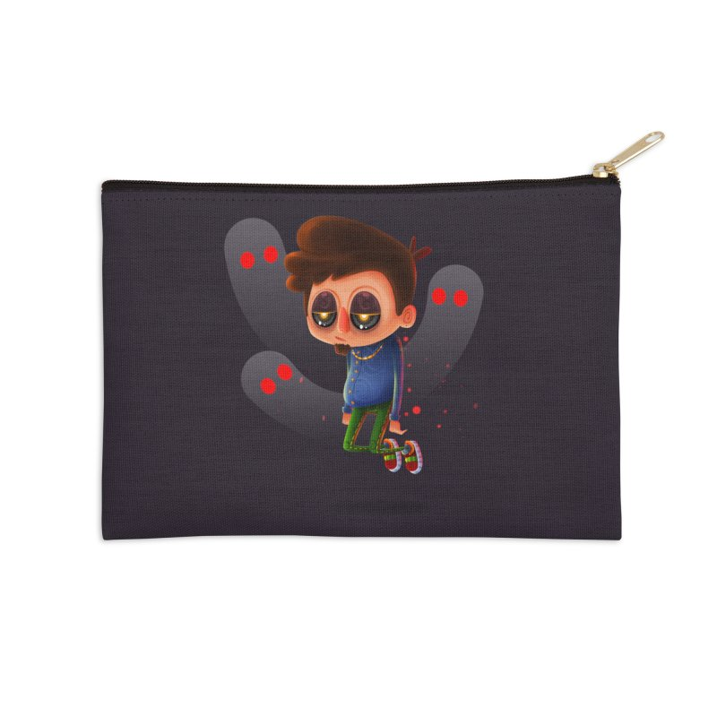 Soul Searching Accessories Zip Pouch by mikibo's Shop