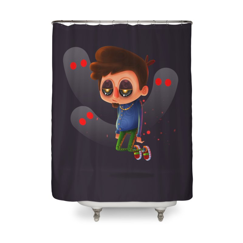 Soul Searching Home Shower Curtain by mikibo's Shop