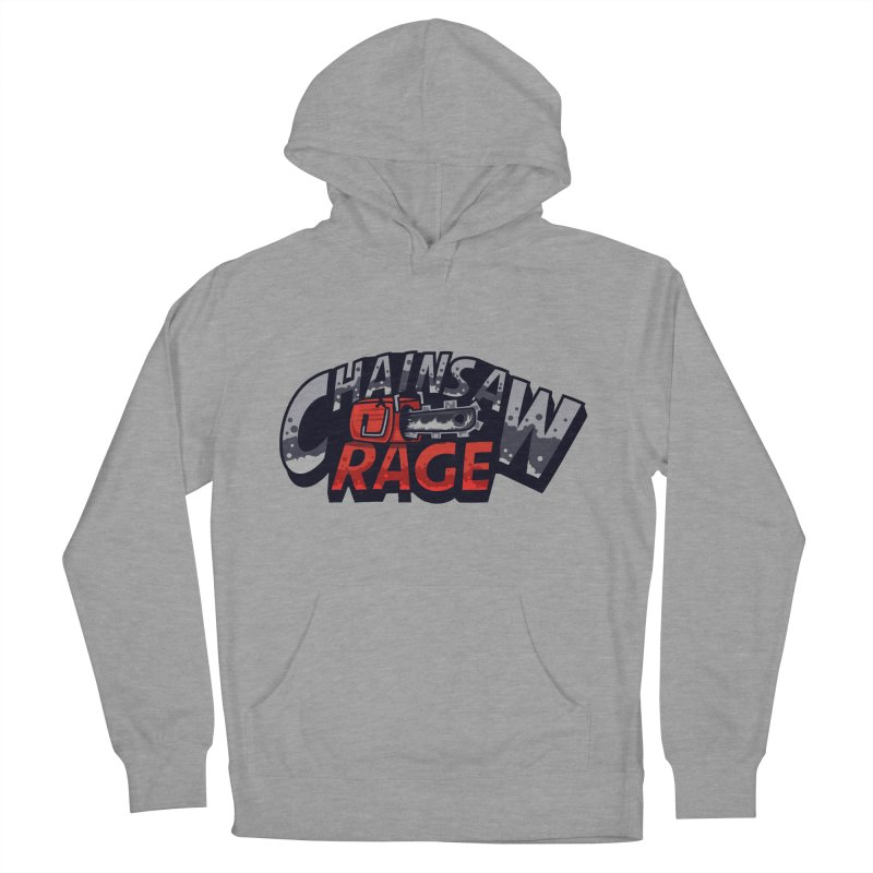 Chainsaw Rage Men's French Terry Pullover Hoody by mikibo's Shop