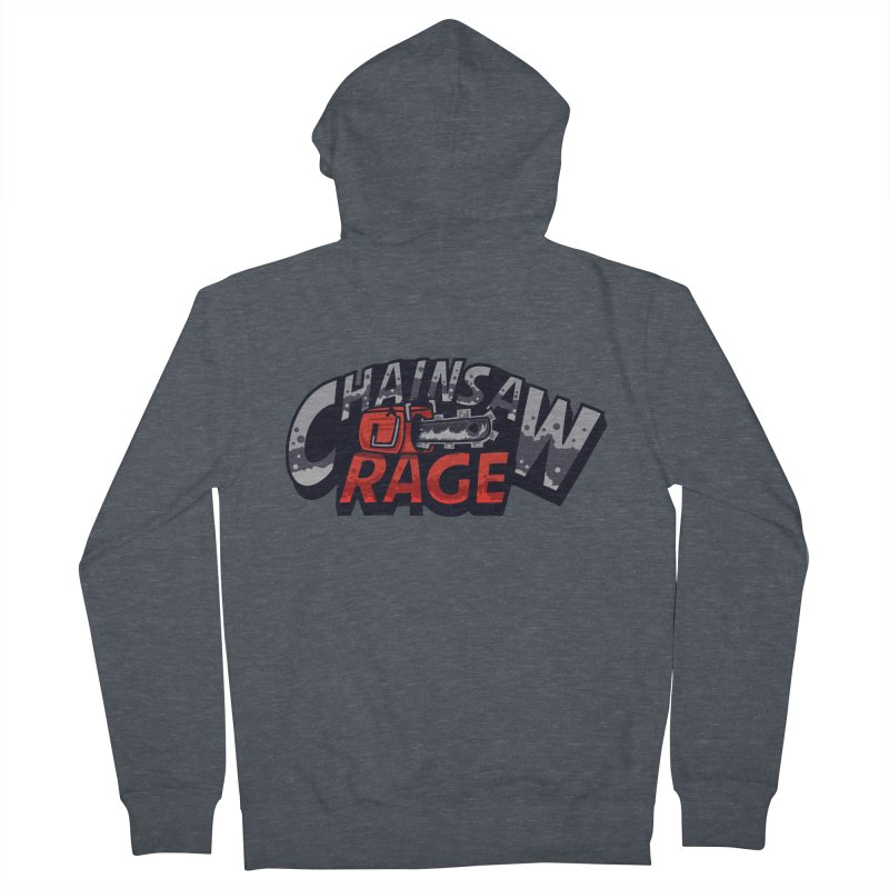 Chainsaw Rage Women's French Terry Zip-Up Hoody by mikibo's Shop